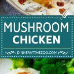Mushroom Chicken Recipe | Chicken with Mushrooms | Chicken in Mushroom Sauce #chicken #mushrooms #bacon #dinner #dinneratthezoo