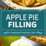 Apple Pie Filling Recipe | Apple Pie Recipe | Apple Recipe #apple #fall #baking #pie #dinneratthezoo