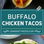 Buffalo Chicken Tacos | Chicken Taco Recipe | Spicy Chicken Tacos #tacos #tacotuesday #buffalochicken #chicken #ranch #dinner #dinneratthezoo