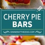 Cherry Bars Recipe | Cherry Pie Bars | Cherry Cookies | Bar Cookies #cookies #bars #cherry #baking #dessert #sweets #dinneratthezoo