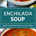 Chicken Enchilada Soup | Mexican Soup | Enchilada Soup #soup #chicken #chickensoup #beans #corn #dinner #dinneratthezoo