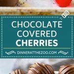 Chocolate Covered Cherries Recipe | Cherry Cordials | Cherry Candy #chocolate #candy #dessert #cherry #sweets #dinneratthezoo