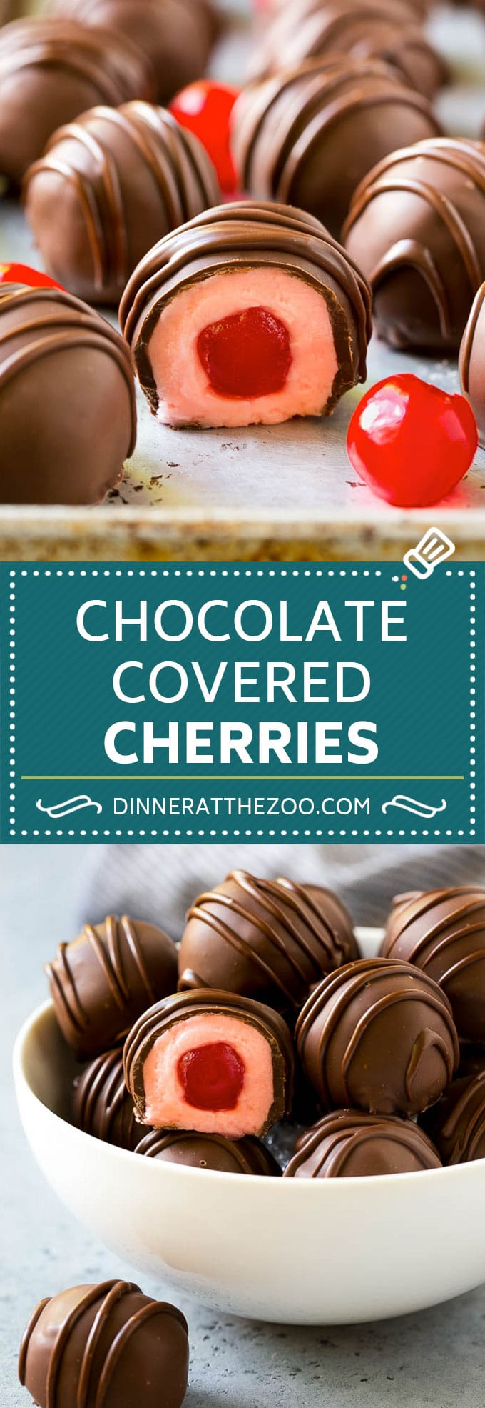 Chocolate Covered Cherries Recipe | Cherry Cordials | Cherry Candy #chocolate #candy #dessert #cherry #sweets #dinneratthezoo