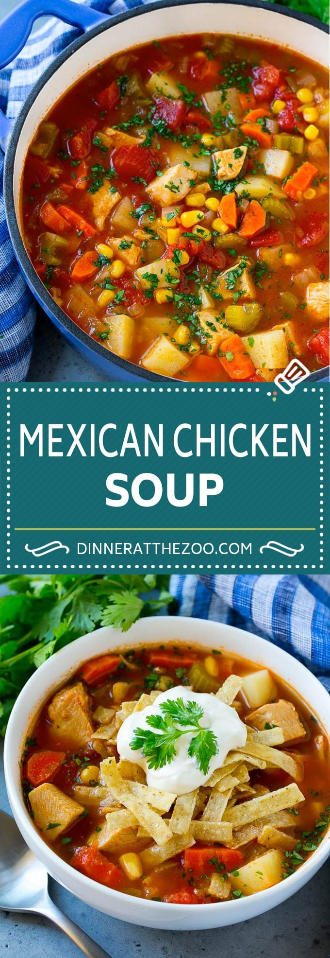 Mexican Chicken Soup | Chicken and Vegetable Soup | Chicken and Potato Soup #chicken #soup #chickensoup #mexican #healthy #dinner #dinneratthezoo