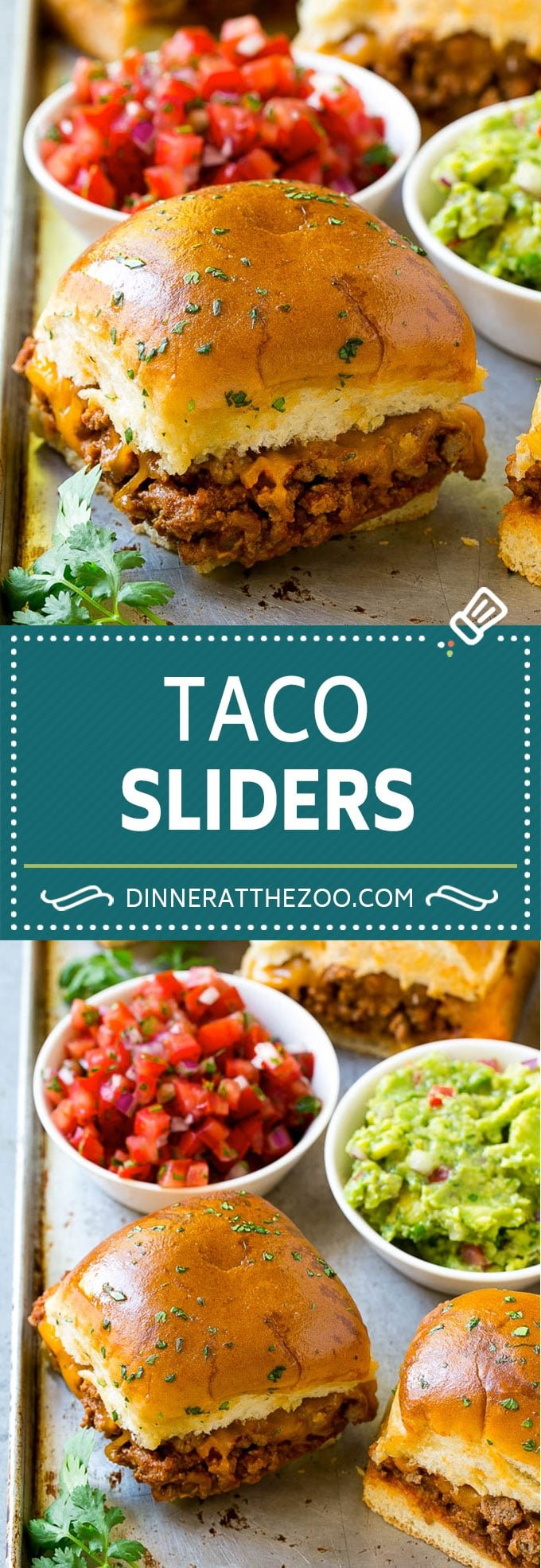 Taco Sliders Recipe | Beef Slider Sandwiches | Easy Slider Sandwiches #sandwich #taco #beef #cheese #snack #appetizer #dinneratthezoo