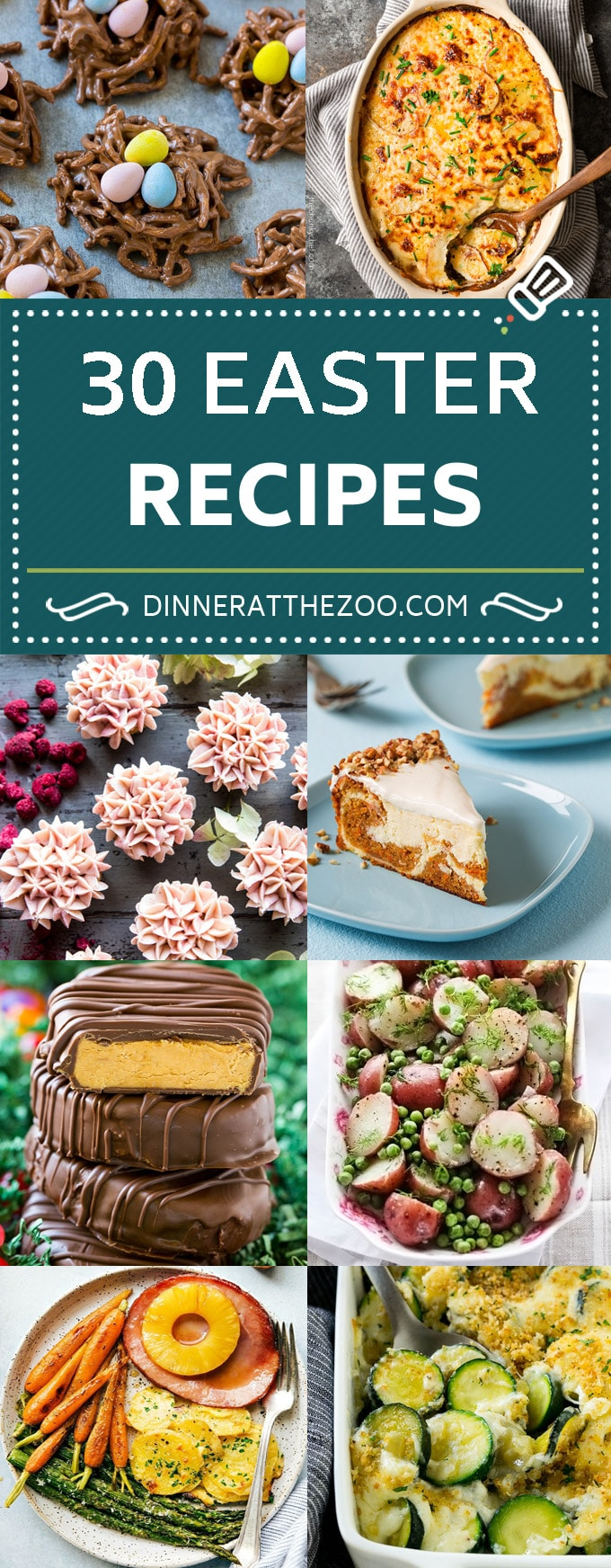 30 Easter Recipes | Easter Main Course | Easter Side Dish | Easter Dessert #easter #easterdinner #ham #sidedish #maincourse #holiday #dessert #dinneratthezoo