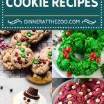 30 Holiday Cookie Recipes | Christmas Cookies | No Bake Cookies | Thumbprint Cookies | Gingerbread Cookies #cookies #christmas #sweets #dessert #baking #dinneratthezoo