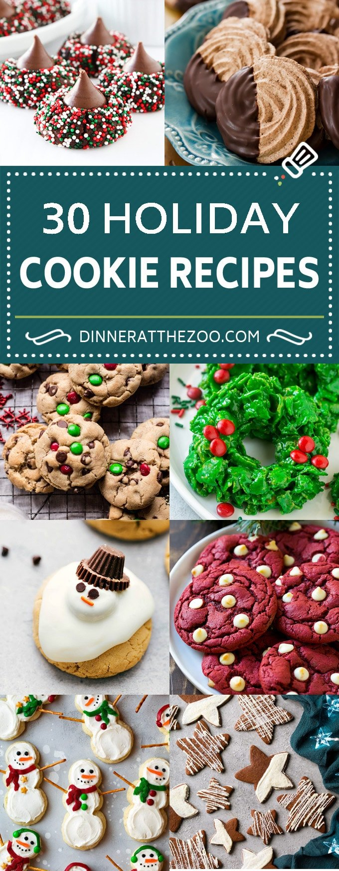 Christmas Cookies Pinterest.30 Christmas Cookie Recipes Dinner At The Zoo