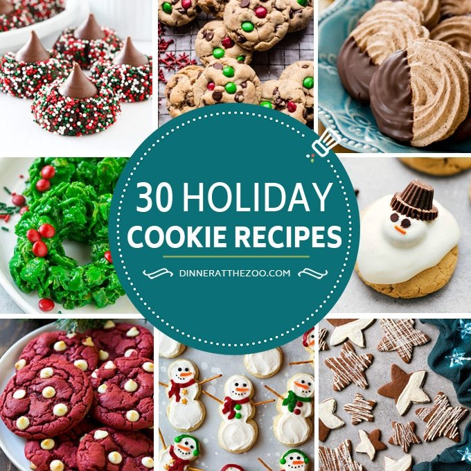 Christmas Cookie Recipes.30 Christmas Cookie Recipes Dinner At The Zoo