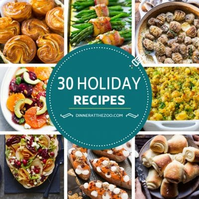 30 Holiday Recipes