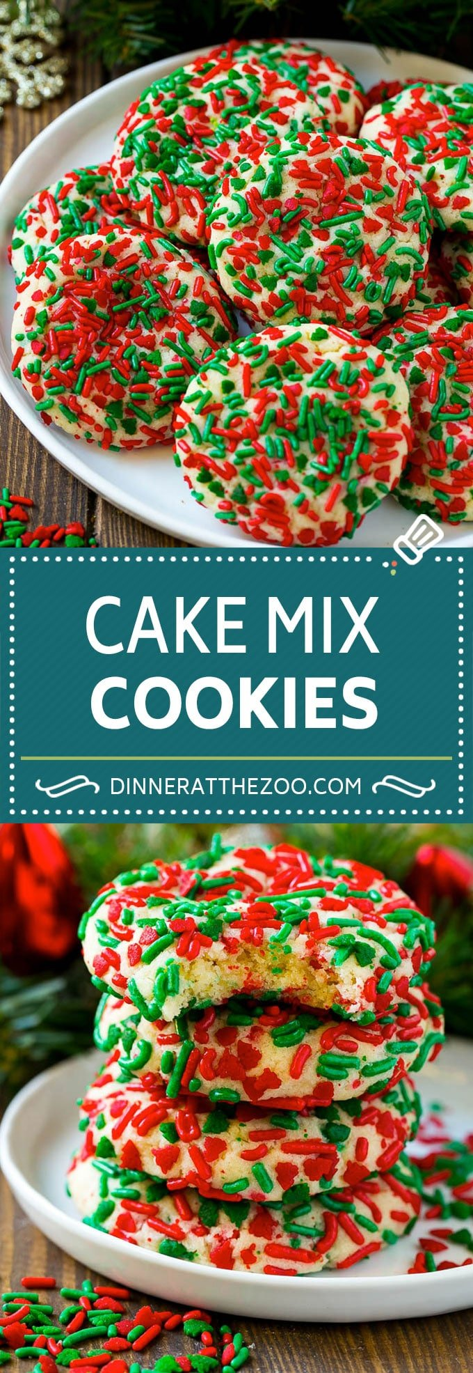 Cake Mix Cookies Dinner At The Zoo