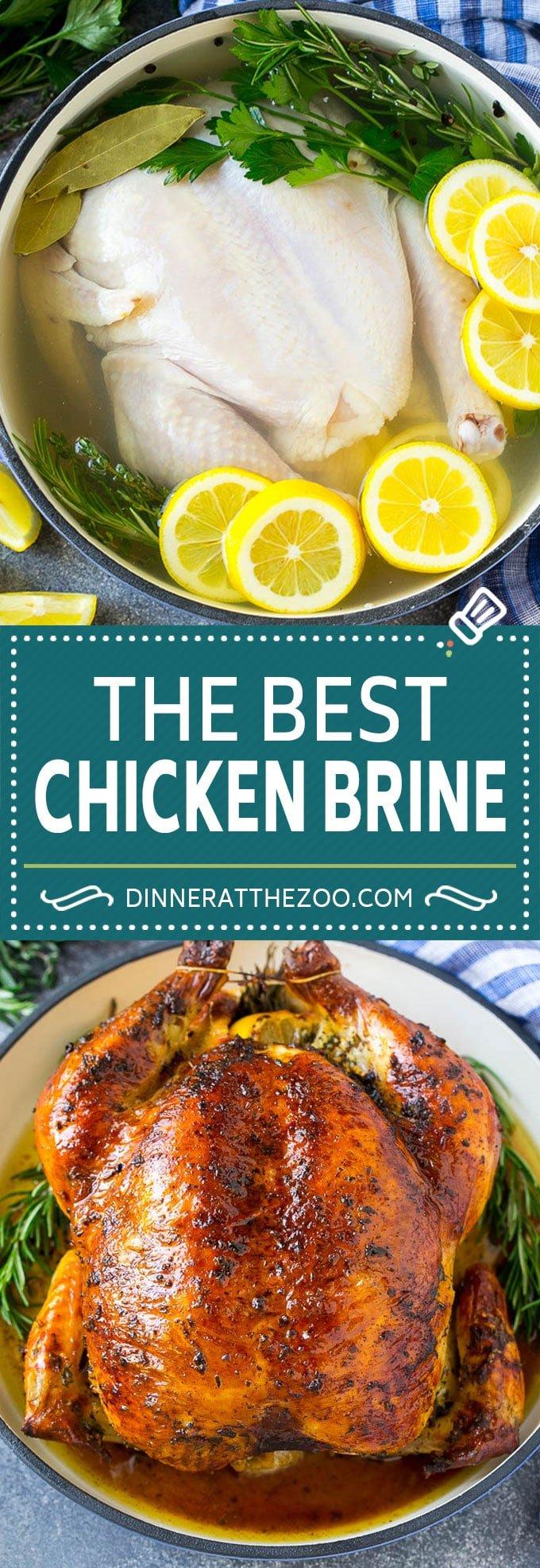 Chicken Brine Recipe - Dinner at the Zoo
