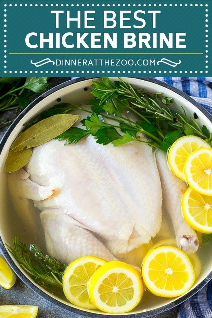 Chicken Brine Recipe | Roasted Chicken | Whole Chicken Recipe #brine #chicken #dinner #glutenfree #lowcarb #dinneratthezoo