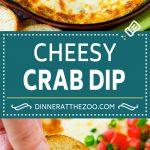 Crab Dip Recipe | Hot Crab Dip | Seafood Dip #dip #crab #seafood #appetizer #dinneratthezoo #cheese