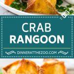 Crab Rangoon Recipe | Crab Wontons | Cream Cheese Wontons #crab #cheese #appetizer #snack #chinesefood #dinner #dinneratthezoo