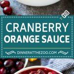 Cranberry Orange Sauce Recipe | Homemade Cranberry Sauce | Fresh Cranberry Sauce #cranberry #orange #fall #thanksgiving #sauce #dinner #dinneratthezoo