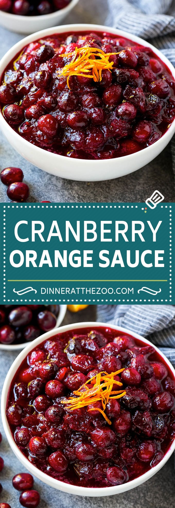 Cranberry Orange Sauce Recipe | Homemade Cranberry Sauce | Fresh Cranberry Sauce #cranberry #orange #fall #thanksgiving #sauce #dinner #dinneratthezoo