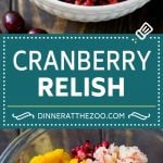 Cranberry Relish Recipe | Cranberry Sauce | Raw Cranberry Relish #cranberry #relish #sauce #thanksgiving #fall #dinner #dinneratthezoo