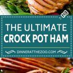 Crock Pot Ham Recipe | Slow Cooker Ham | Glazed Ham | Thanksgiving Ham | Christmas Ham | Easter Ham #ham #slowcooker #crockpot #dinner #christmas #thanksgiving #easter #glutenfree #dinneratthezoo