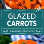 Glazed Carrots Recipe | Brown Sugar Carrots | Carrot Side Dish #carrots #brownsugar #sidedish #glutenfree #thanksgiving #fall #dinner #dinneratthezoo