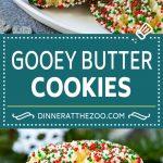 Gooey Butter Cookies Recipe | Cake Mix Cookies | Sprinkle Cookies | Christmas Cookies #cookies #butter #sprinkles #christmas #dessert #baking #dinneratthezoo