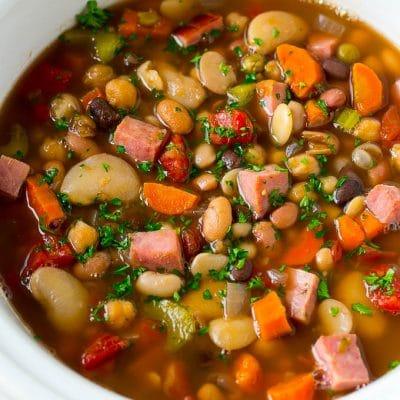 Ham and Bean Soup (Slow Cooker)