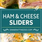 Ham and Cheese Sliders Recipe | Hot Ham and Cheese Sliders | Ham and Cheese Sandwiches #ham #cheese #slider #sandwich #appetizer #snack #dinneratthezoo