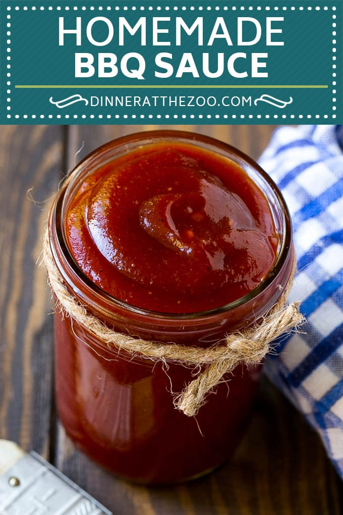 Homemade BBQ Sauce Recipe | Barbecue Sauce Recipe #bbq #grilling #sauce #condiments #dinneratthezoo