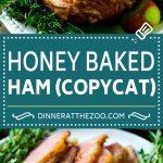 Honey Baked Ham Recipe   Glazed Ham   Holiday Ham #ham #dinner #dinneratthezoo #christmas #thanksgiving #easter