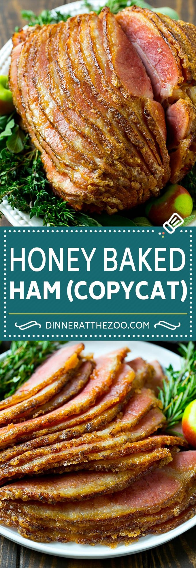 Honey Baked Ham Recipe | Glazed Ham | Holiday Ham #ham #dinner #dinneratthezoo #christmas #thanksgiving #easter