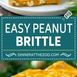 Peanut Brittle Recipe | Peanut Candy | Homemade Candy #candy #peanuts #dessert #sweets #dinneratthezoo #christmas