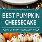 Pumpkin Cheesecake Recipe | Pumpkin Pie Cheesecake | Pumpkin Dessert #pumpkin #thanksgiving #dessert #cheesecake #fall #dinneratthezoo