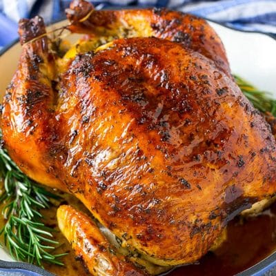 Roasted Chicken with Garlic and Herbs