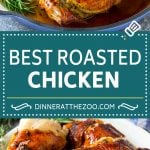 Roasted Chicken Recipe   Whole Roasted Chicken   Roast Chicken #chicken #dinner #lowcarb #keto #dinneratthezoo