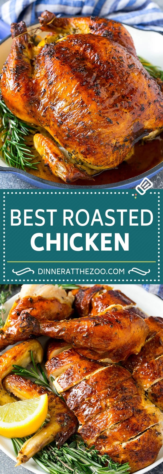 Roasted Chicken Recipe | Whole Roasted Chicken | Roast Chicken #chicken #dinner #lowcarb #keto #dinneratthezoo