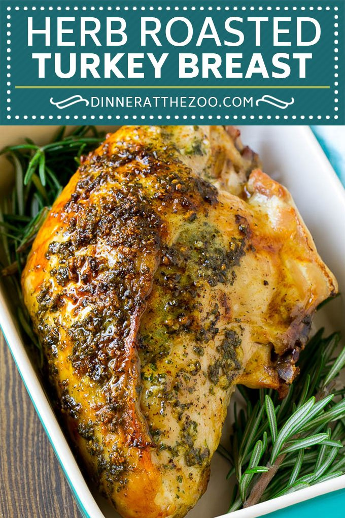 Herb Roasted Turkey Breast Recipe | Roasted Turkey Recipe | Thanksgiving Turkey #turkey #thanksgiving #dinner #glutenfree #dinneratthezoo #garlic #butter
