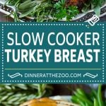 This slow cooker turkey breast is coated in a seasoned herb butter, then placed in the crock pot to cook to tender perfection. It's the perfect way to free up oven space for your big holiday meal.
