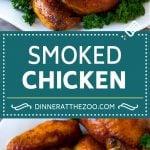 Smoked Chicken Recipe | Whole Smoked Chicken | BBQ Chicken #chicken #smoker #BBQ #dinner #dinneratthezoo #glutenfree #lowcarb
