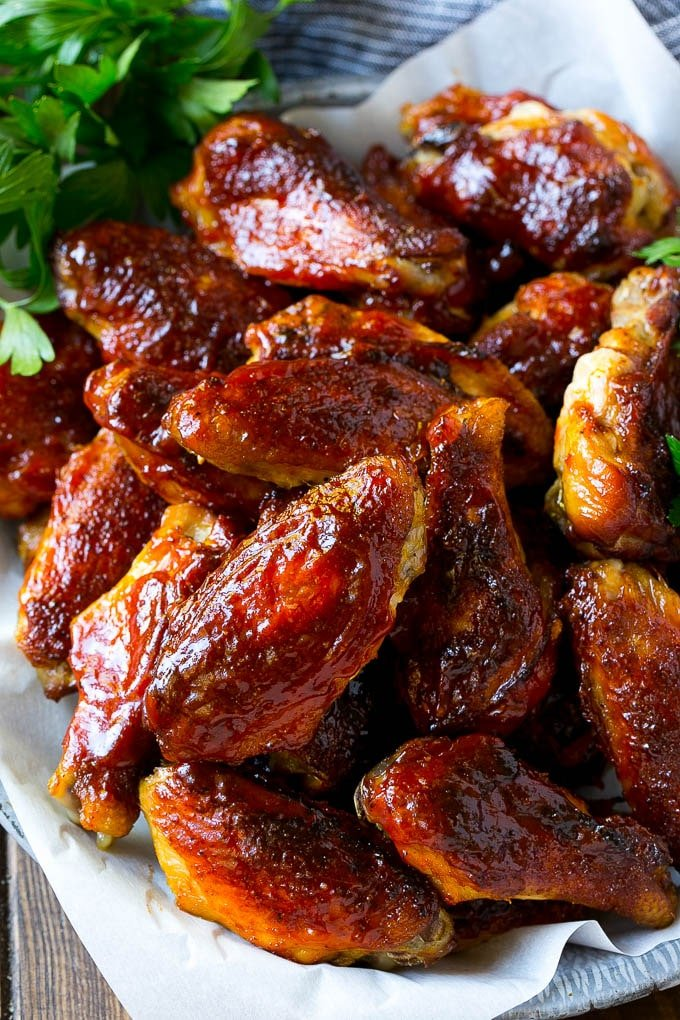 How to cook smoked chicken wings on a grill