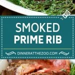 Smoked Prime Rib Recipe | Easy Prime Rib | Smoked Beef | Holiday Prime Rib #primerib #beef #smoker #dinner #dinneratthezoo #christmas #thanksgiving #lowcarb #keto