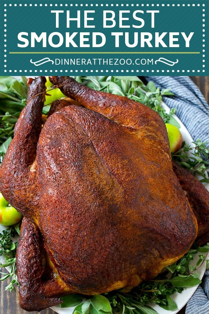 Smoked Turkey Recipe | Thanksgiving Turkey | Holiday Turkey #turkey #thanksgiving #christmas #dinner #dinneratthezoo #smoker