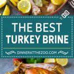 Turkey Brine Recipe | Brined Turkey | Roasted Turkey | Thanksgiving Turkey #turkey #thanksgiving #fall #brine #dinner #christmas #dinneratthezoo