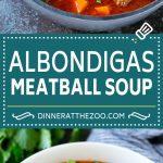 Albondigas Soup | Meatball Soup | Mexican Soup #soup #meatballs #beef #rice #glutenfree #dinner #dinneratthezoo #comfortfood
