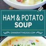 Ham and Potato Soup | Ham Soup | Potato Soup #soup #ham #potato #dinner #comfortfood #dinneratthezoo