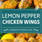 Lemon Pepper Wings Recipe | Lemon Pepper Chicken | Fried Chicken Wings #chicken #chickenwings #wings #appetizer #lemon #dinner #dinneratthezoo