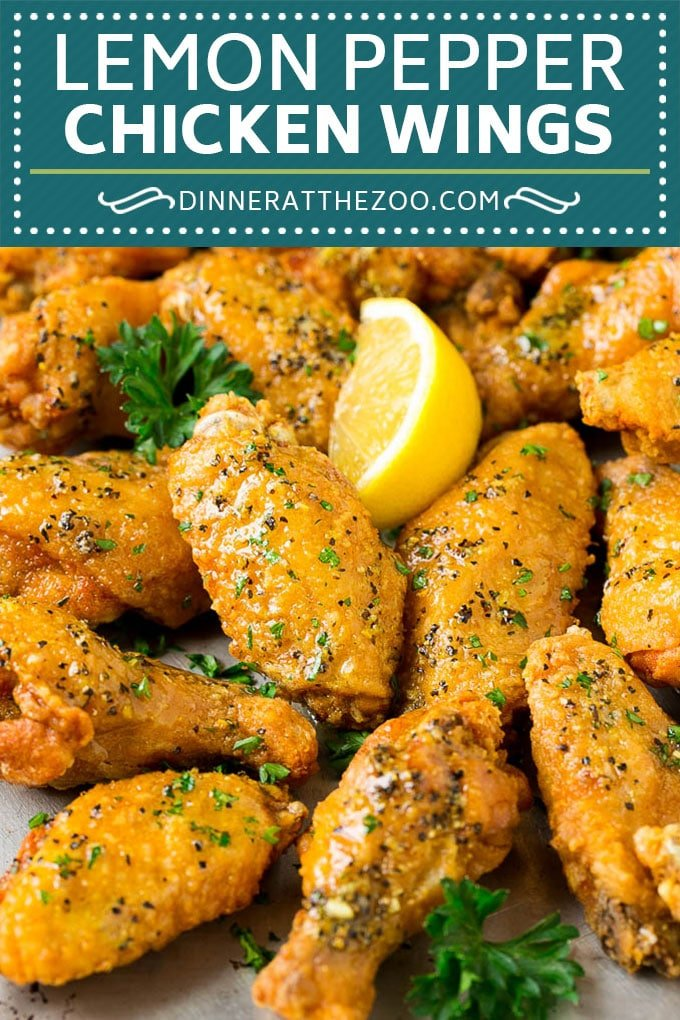 Lemon Pepper Wings Recipe | Lemon Pepper Chicken | Fried Chicken Wings #chicken #chickenwings #wings #appetizer #lemon #dinner #dinneratthezoo
