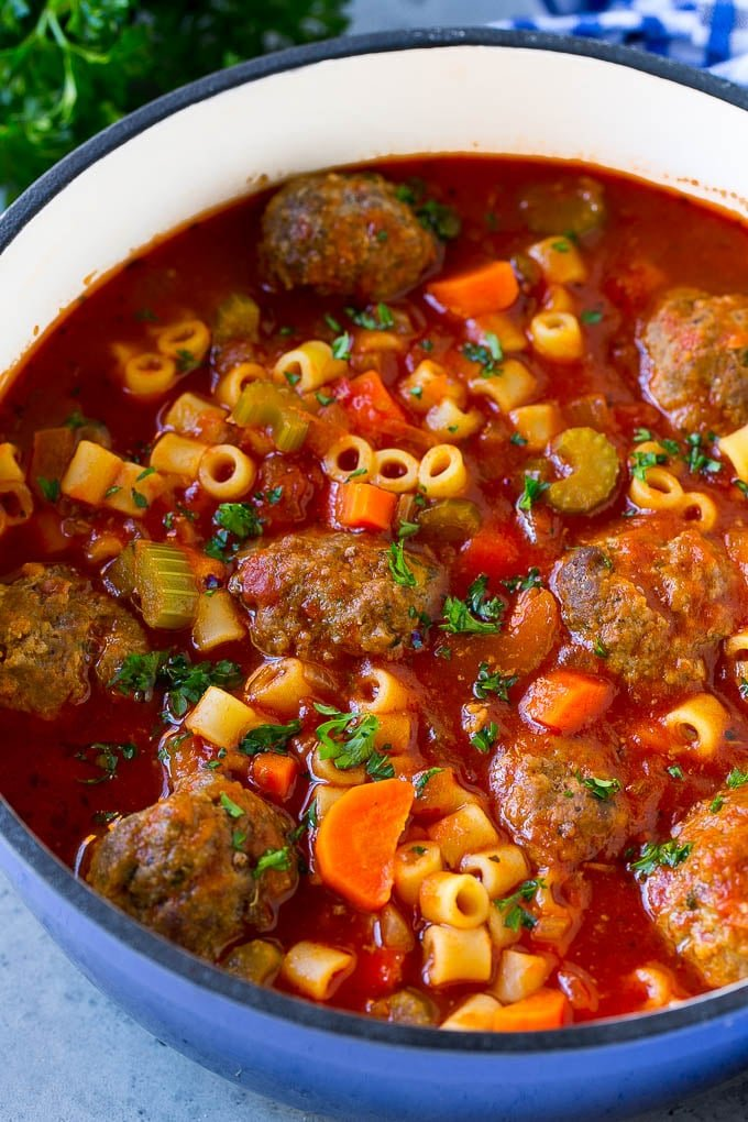 Italian Meatball Soup Dinner At The Zoo