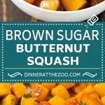 Roasted Butternut Squash Recipe | Baked Butternut Squash | Butternut Squash Side Dish #butternutsquash #squash #fall #vegetarian #dinner #dinneratthezoo