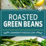 Roasted Green Beans Recipe | Garlic Green Beans | Easy Green Beans #greenbeans #garlic #vegetables #vegetarian #sidedish #dinner #dinneratthezoo