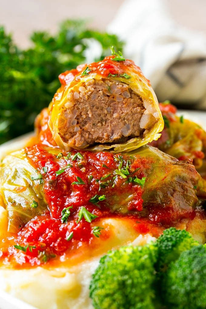 Stuffed Cabbage Rolls Dinner At The Zoo